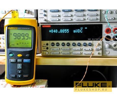 Термометр Fluke 52 II (50 гц)
