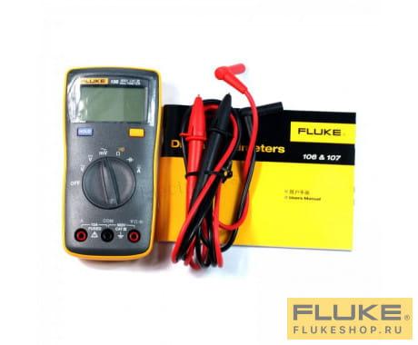 Мультиметр с поверкой Fluke 107