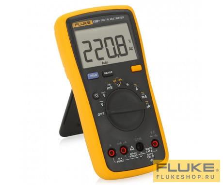 Мультиметр с поверкой Fluke 15B+