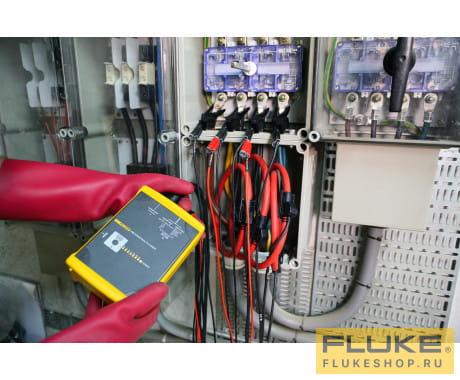 Трехфазный регистратор электроэнергии Fluke 1744 Basic