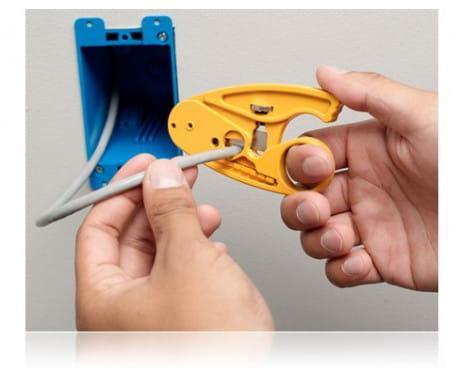 Инструмент для зачистки кабеля круглого Fluke Networks
