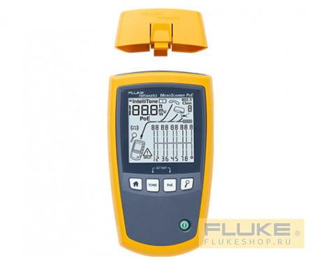 Тестер кабельный Fluke Networks MicroScanner PoE