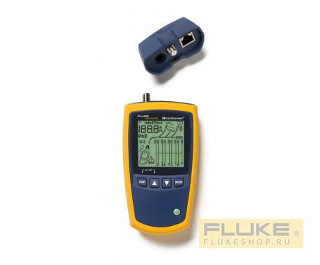 Тестер кабельный Fluke Networks MicroScanner2-100