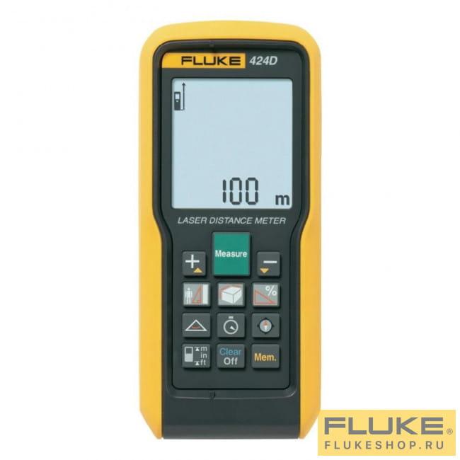Лазерный дальномер Fluke 424D 4106866 - Дальномеры в фирменном магазине  FLUKE